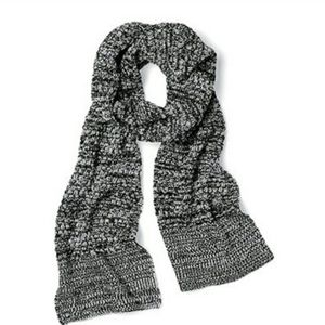 Victoria's Secret Scarf Black & Ivory O/S